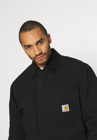 Carhartt WIP - ARCTIC COAT DEARBORN - Light jacket - black - 3
