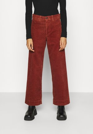 FULL LENGTH WIDE LEG - Broek - copper beech