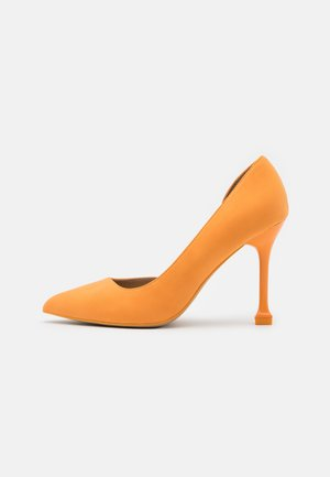 ANDREAA - Classic heels - orange