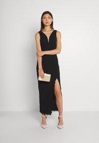 WAL G. - HARRY MAXI DRESS - Společenské šaty - black - 1