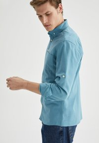 DeFacto - Formal shirt - blue - 3