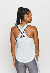 Under Armour - SPORT X BACK TANK - Funkční triko - seaglass blue - 2