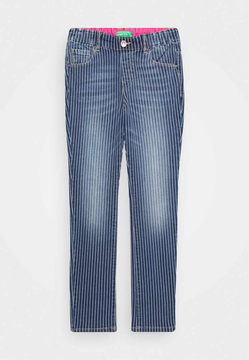 Benetton - ONLINE GIRL - Jeans Skinny Fit - blue denim