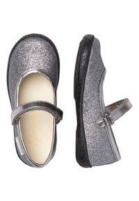 Naturino - PAVIA - Ankle strap ballet pumps - silber - 1