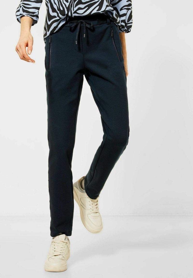 Cecil - Trousers - blau