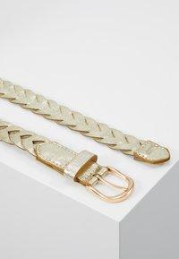 NAF NAF - STONES - Belte - light gold-coloured - 3