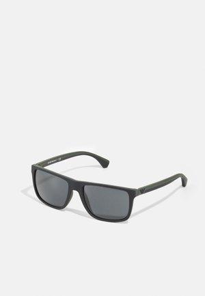 Sunglasses - black/green