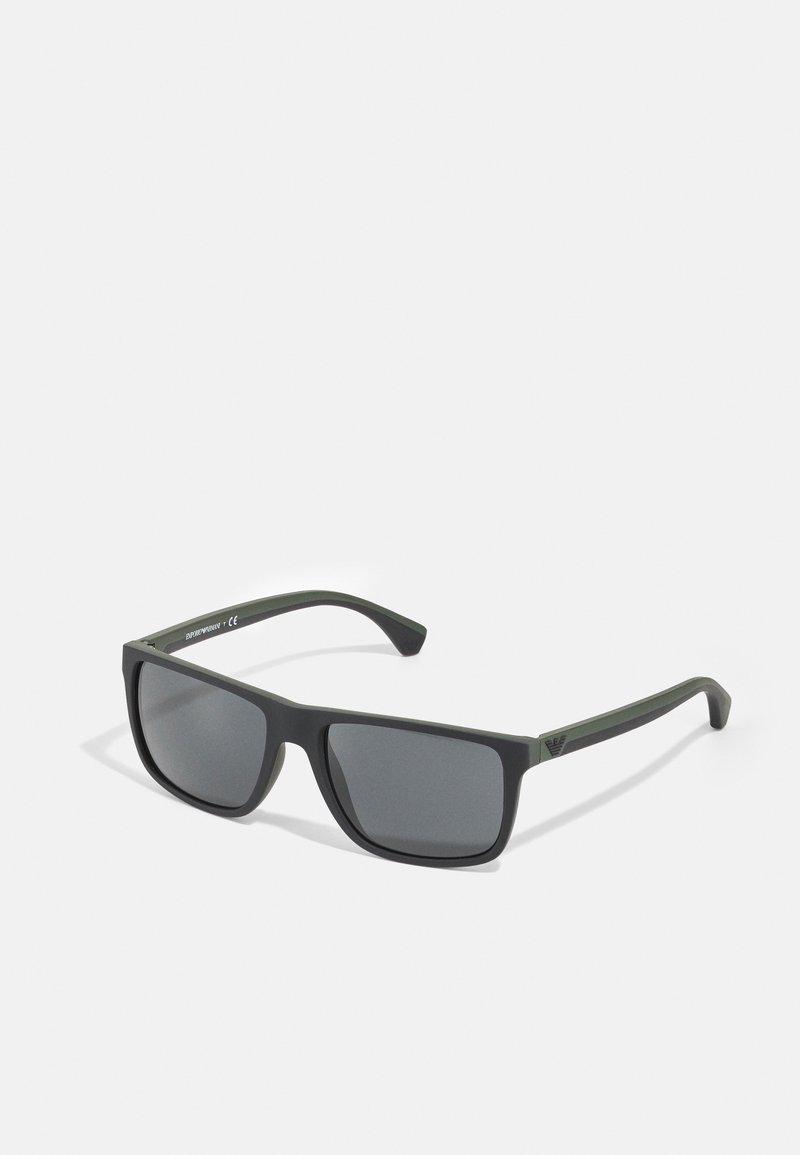 Emporio Armani - Sunglasses - black/green