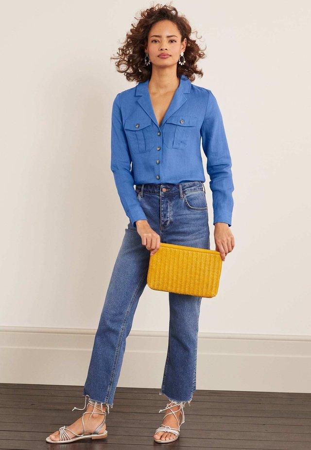 LETITIA - Button-down blouse - délavé-effekt