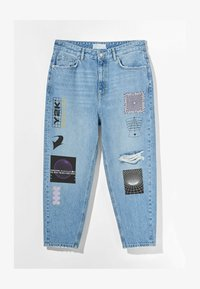 Bershka - Jeans Tapered Fit - blue denim - 4