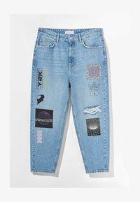 Bershka - Zúžené džíny - blue denim - 4