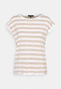 More & More - Print T-shirt - warm sand - 0