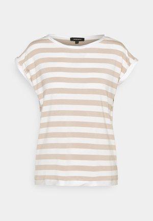 Print T-shirt - warm sand