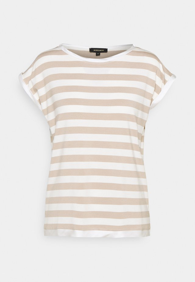 T-Shirt print - warm sand