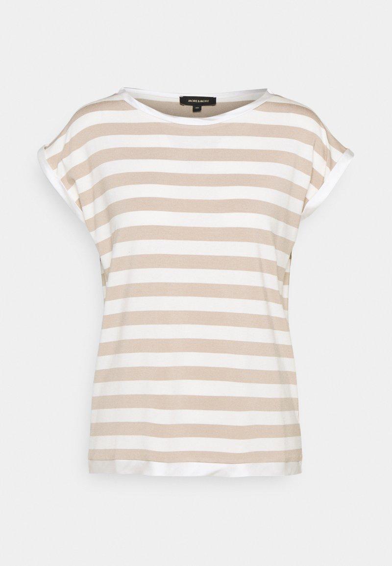 More & More - Print T-shirt - warm sand