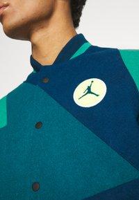 Jordan - Bomber Jacket - valerian blue/geode teal/neptune green - 7