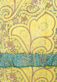Esqualo - SKIRT SHORT PAISLEY LAYERS - A-line skirt - yellow - 2