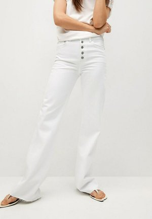 Flared Jeans - wit