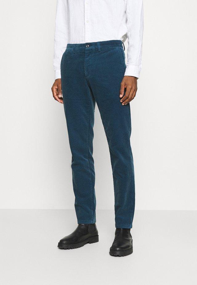 DENTON CORDUROY PANT - Pantalon classique - blue