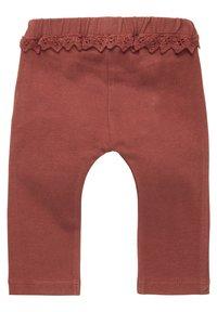 Noppies - Leggings - Trousers - henna - 1