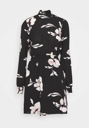ONLWINNER HIGHNECK DRESS - Day dress - black
