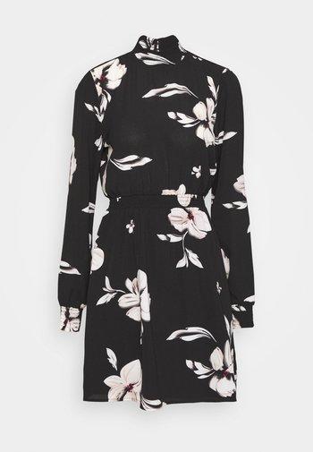 ONLWINNER HIGHNECK DRESS - Day dress - black