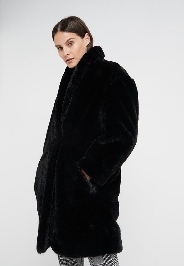 LUXURY FASHION CABAN JACKET - Płaszcz zimowy - black