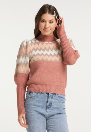 Jersey de punto - rosa