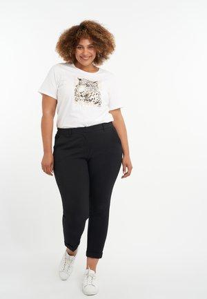 CROPPED  - Pantalon classique - black