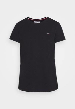 TEXTURE TEE - T-shirts - black