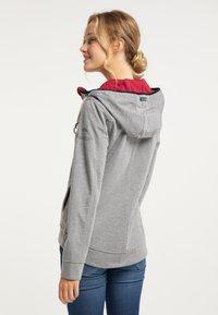 Schmuddelwedda - Zip-up hoodie - grau melange - 2