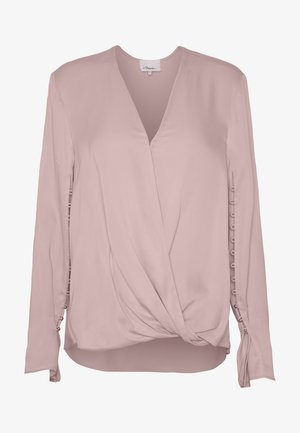 BLOUSE - Blouse - dusty pink