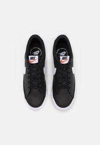 Nike Sportswear - COURT LEGACY  - Zapatillas - black/white/light brown - 3