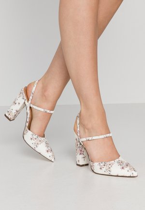 GLALLA - High heels - white/multicolor