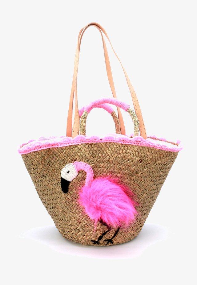 FLAMINGO PLUS  - Tote bag - pink