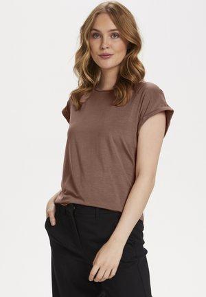 ADELIA - Basic T-shirt - burlwood