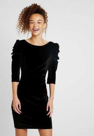 PUFF SLEEVE BODYCON - Koktejlové šaty/ šaty na párty - black