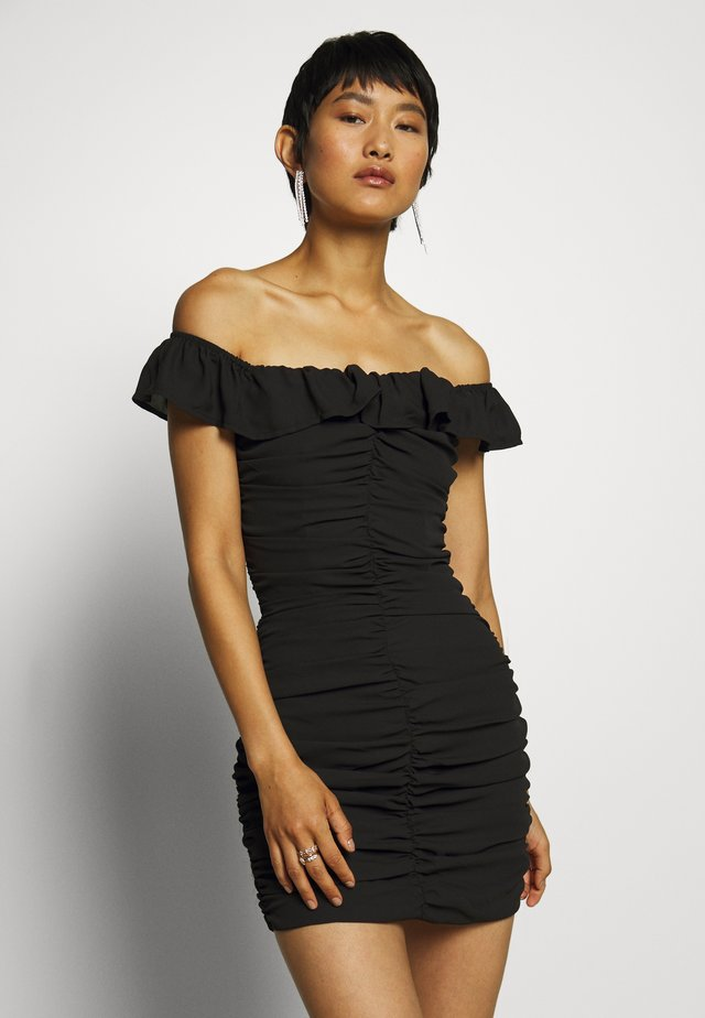 PARTY DRESS - Shift dress - black