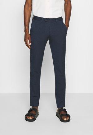 SLHSLIM CARLO COTFLEX PANTS - Trousers - dark navy