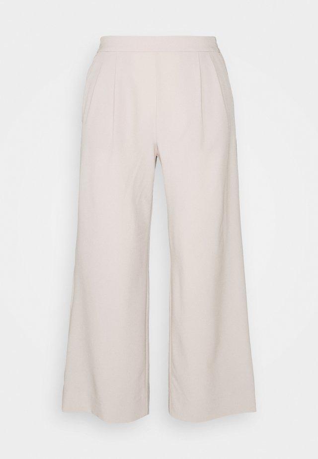 FLYWEIGHT WIDE LEG - Pantaloni - grey
