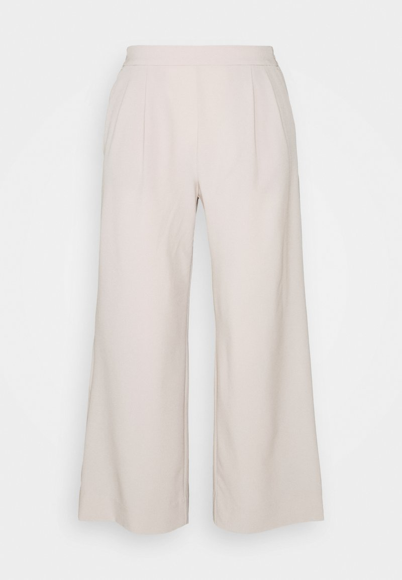 Banana Republic - FLYWEIGHT WIDE LEG - Trousers - grey
