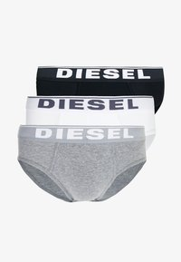 Diesel - UMBR-ANDRETHREEPACK BRIEF 3 PACK - Briefs - black/grey/white - 3
