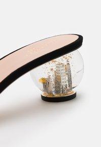 kate spade new york - POLISHED - Pantofle na podpatku - black - 5