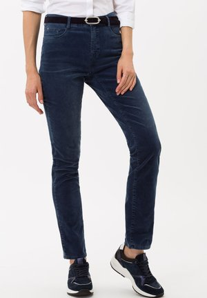 STYLE CAROLA - Trousers - vintage blue
