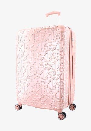 Wheeled suitcase - pink