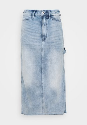 REVYNN ULTRA HIGH SKIRT - Denim skirt - sun faded arctic