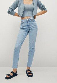 Mango - NEWMOM - Slim fit jeans - lichtblauw - 0