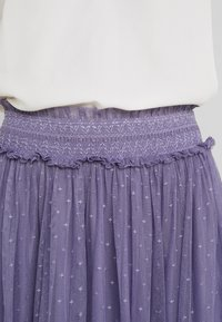Needle & Thread - HONEYCOMBE SMOCKED BALLERINA SKIRT - A-Linien-Rock - bluebell - 3