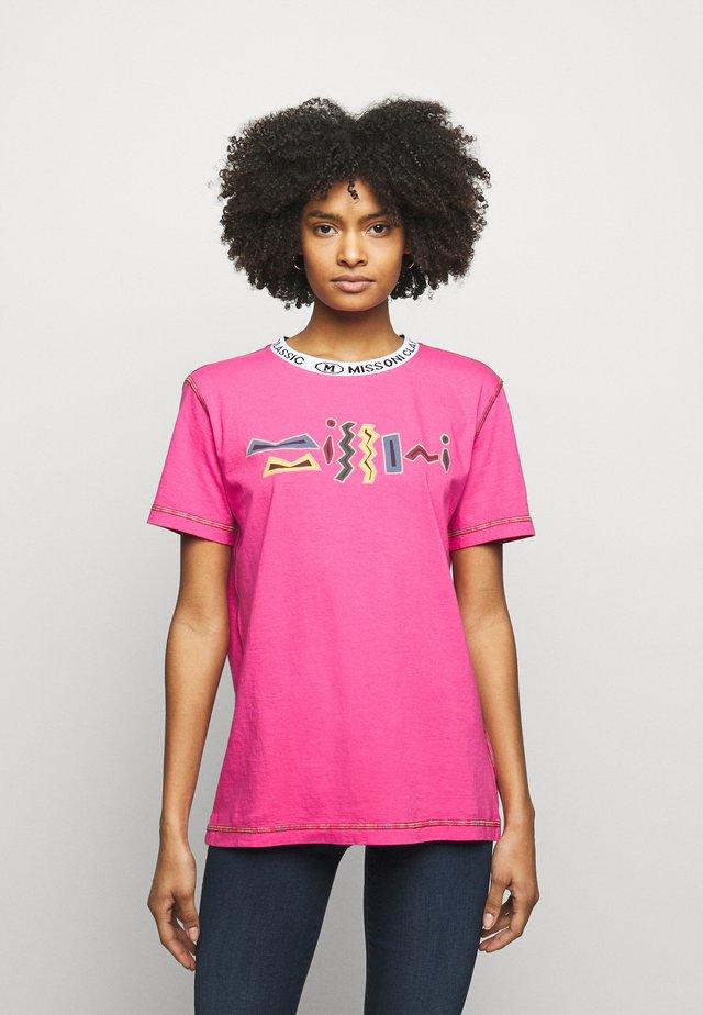Printtipaita - pink