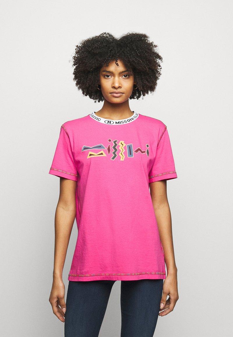 M Missoni - Print T-shirt - pink